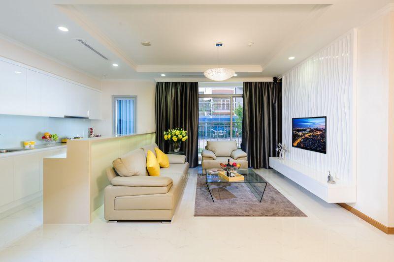 thiết kế ấn tượng của nhà mẫu chung cư the park home