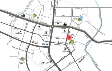 bản đồ vị trí chung cư the park home tại Hà Nội